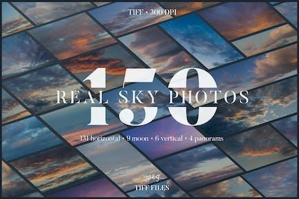 Cloud Nine - 150 Hires sky photos
