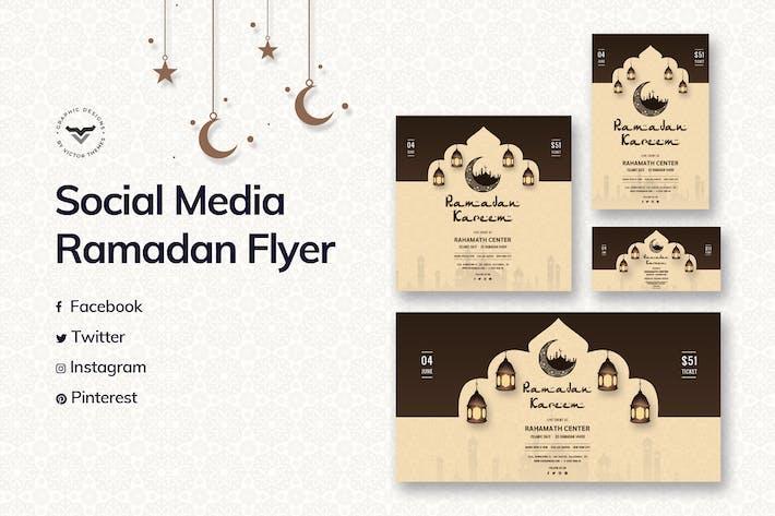 Thumbnail for Modèle de médias sociaux du Ramadan