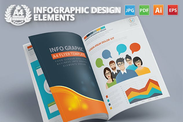 Infographics Template Design - product preview 6
