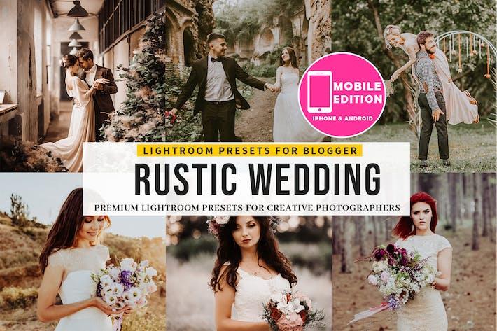 Thumbnail for Rustic Wedding Lightroom Presets