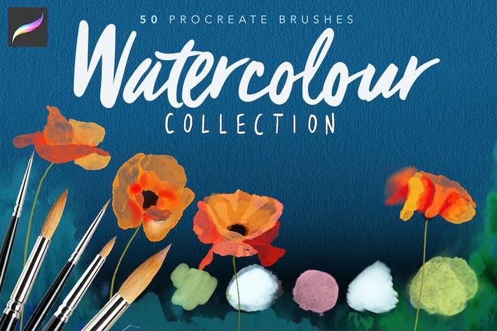 Procreate Watercolour Brushes