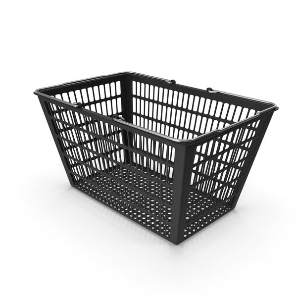 Black Shopping Basket