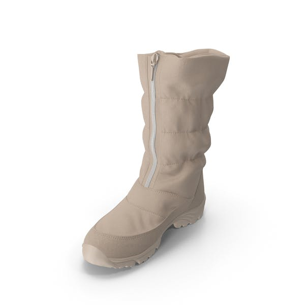 Women's Winter Boot Beige