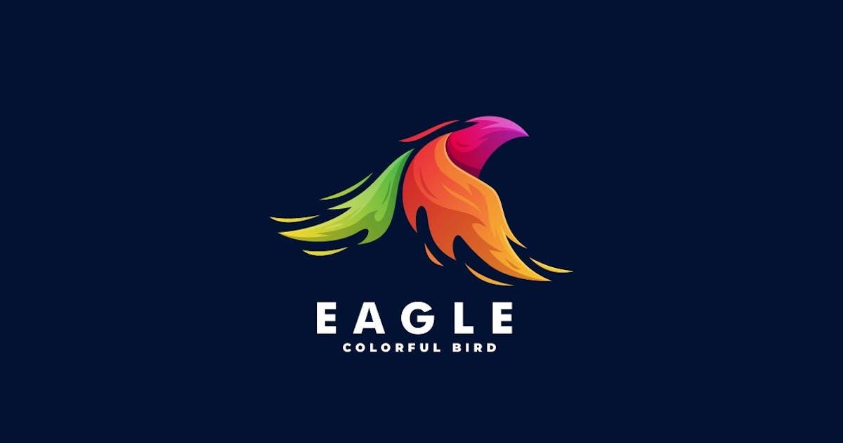 Download Eagle Gradient Colorful Logo by ivan_artnivora