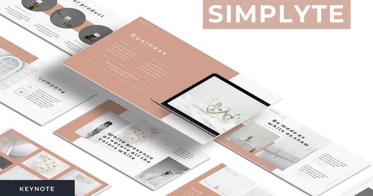 Download Simplyte - Keynote Template by karkunstudio