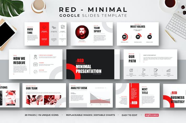 Thumbnail for PräsentationsVorlage für minimale Google Präsentationen