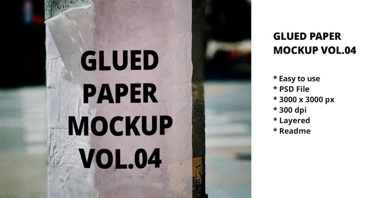 Download Glued Paper Mockup Vol.04 by blkspace