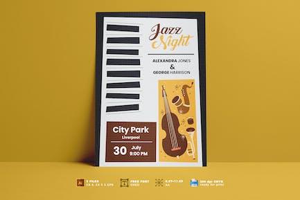 Jazz Music Festival Flyer Vol. 02