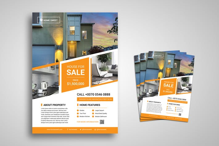 Thumbnail for Immobilien Promo Flyer