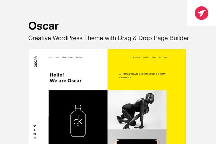 Thumbnail for OSCAR - Creative Portfolio, Agency WordPress Theme