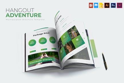 Hangout Adventure   Brochure Template