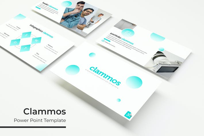 Cover Image For Clammos - Plantilla Powerpoint