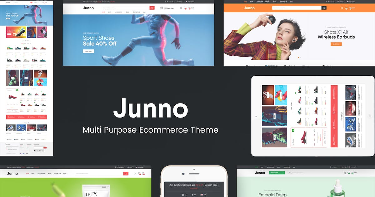 Download Junno - Multipurpose WooCommerce WordPress Theme by Plaza-Themes