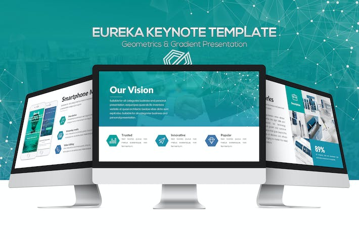 Thumbnail for Eureka Keynote Template