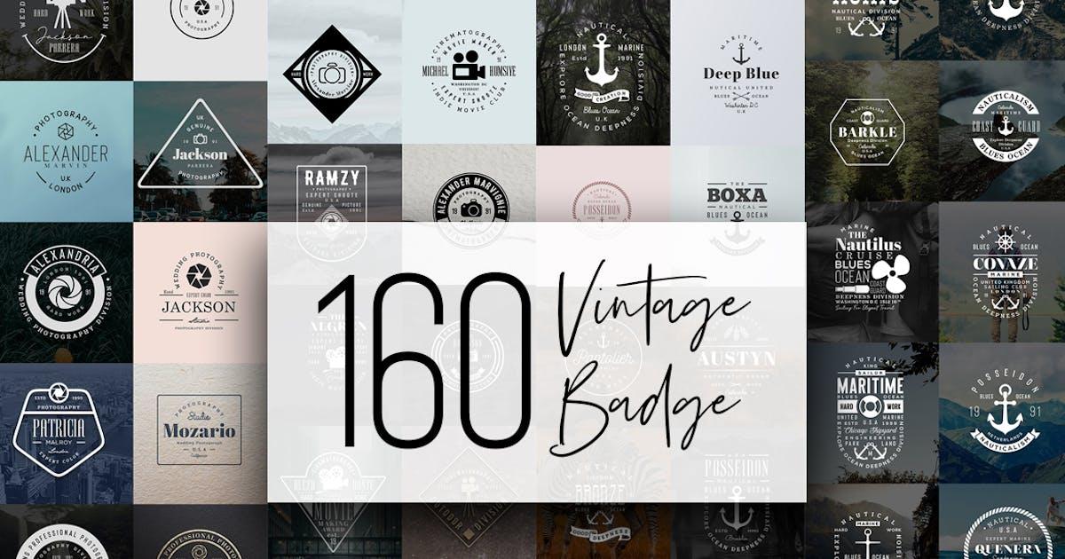 Download 160 Vintage Badge by sagesmask