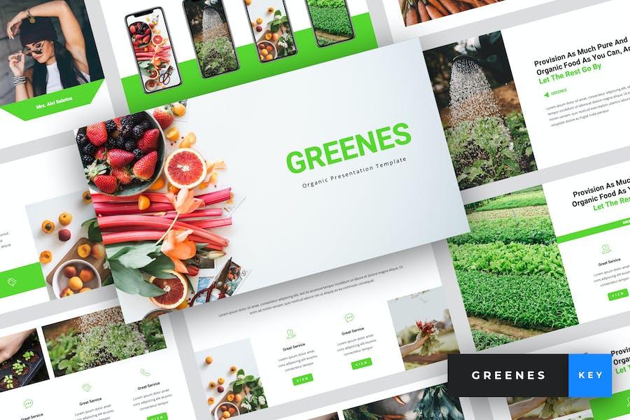Greenes - Organic Keynote Template
