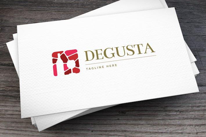 Cover Image For Degusta Logo Template