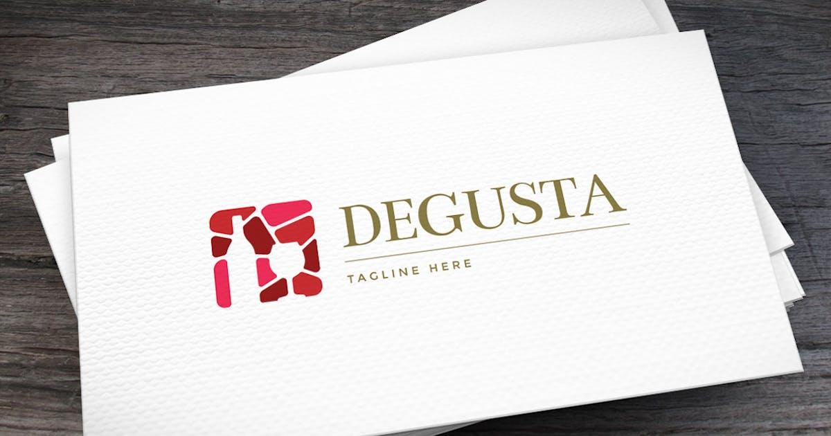 Degusta Logo Template by empativo