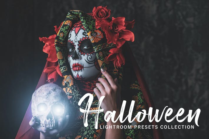 Thumbnail for Halloween Lightroom Presets Pack