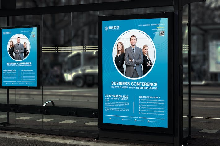 Thumbnail for Mindset - Business Conference Poster HR