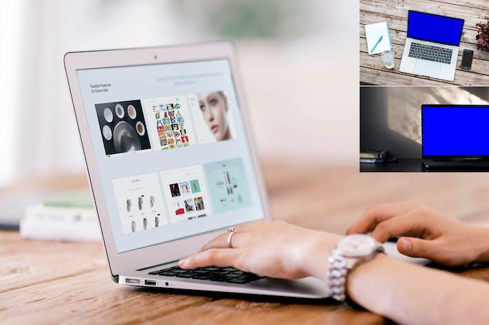 Thumbnail for Macbook Mockups Psd