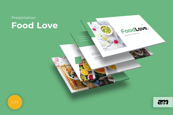 Food Love Google Slides
