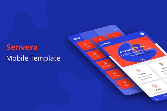Thumbnail for Senvera - Mobile Template
