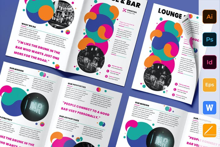 Thumbnail for Lounge Bar Brochure Bifold