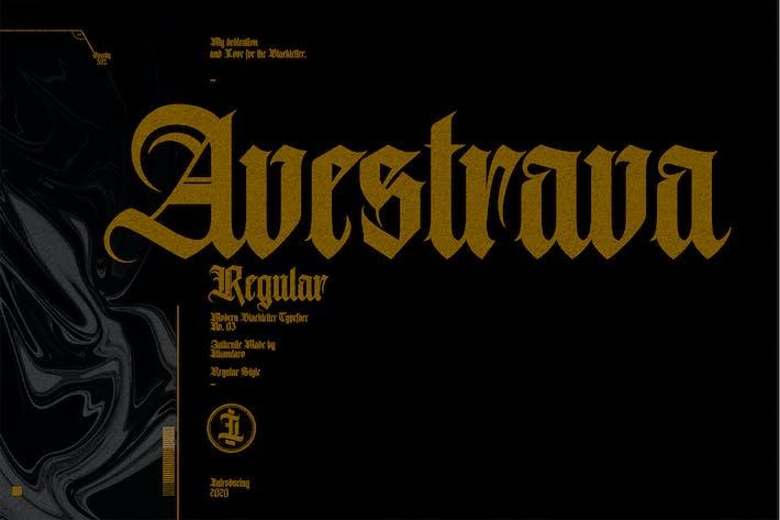 Thumbnail for Avestrava Regular