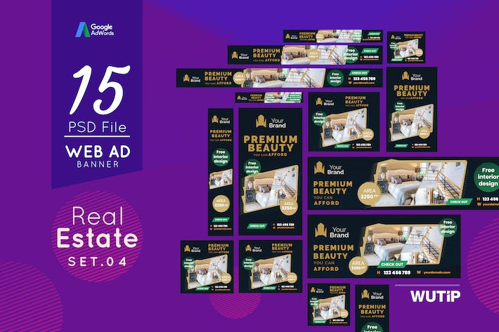 Thumbnail for Web Ad Banners - Real Estate 04