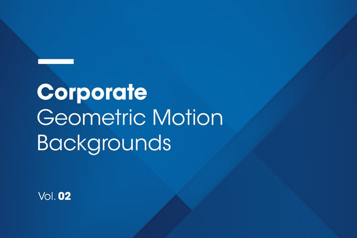 Thumbnail for Corporate | Geometric Motion Backgrounds | Vol. 02