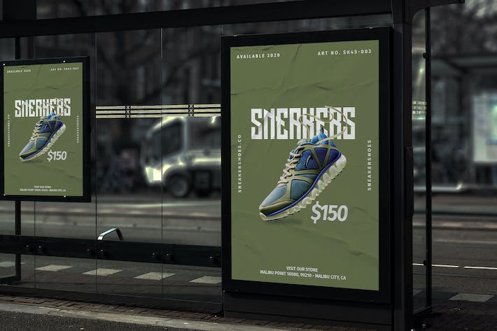 Thumbnail for Sneaker Shoes - Product Promotion Poster RB