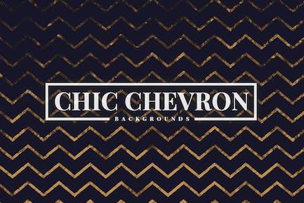 Schicke Chevron-Hintergründe