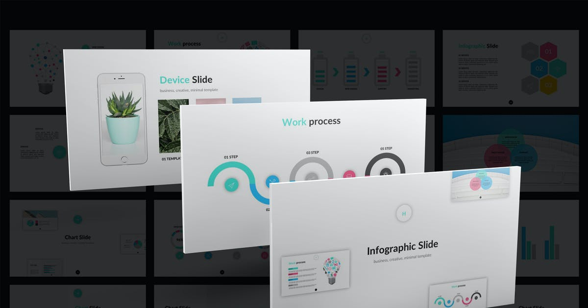 Head PowerPoint Template by Unknow