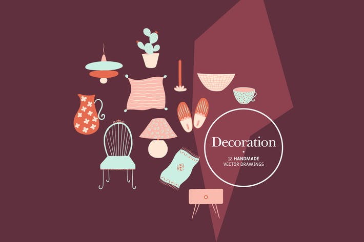 Thumbnail for Decoration - Handmade Vector Drawings