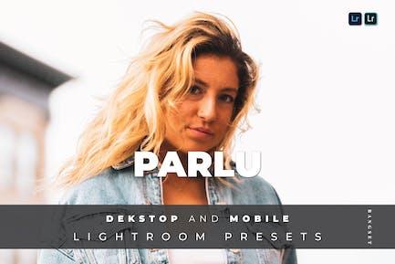 Parlu Desktop and Mobile Lightroom Preset