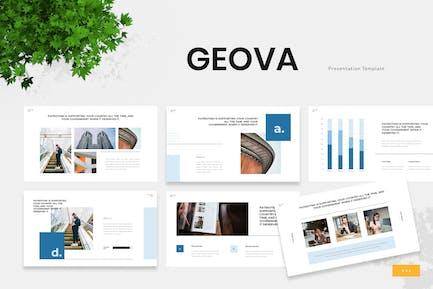 Geova - Government Institution Google Slides