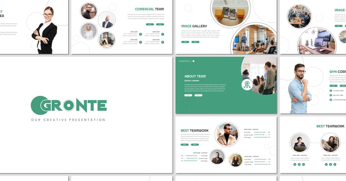 Download Gronte - Business Keynote Template by inspirasign
