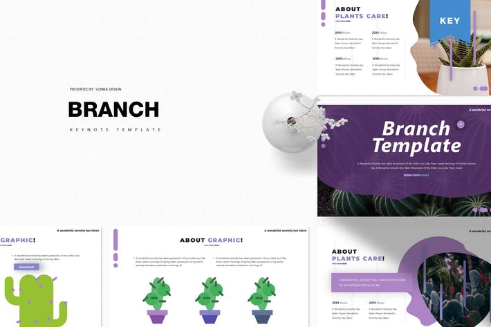 Branch | Keynote Template