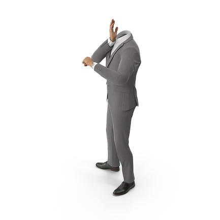 Worried Suit Grey