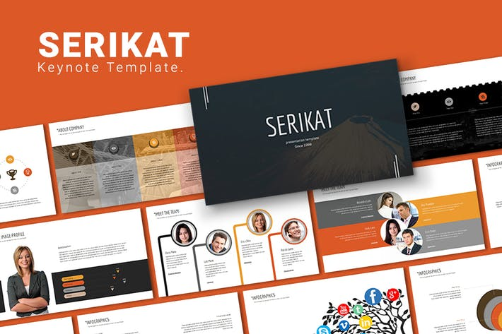 Thumbnail for Serikat - Keynote Template