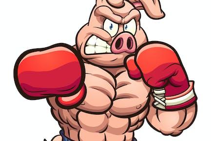 Boxeo Cerdo
