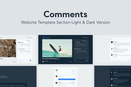 Web Comments Template