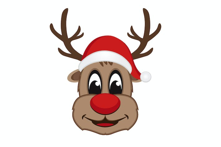 Thumbnail for Christmas Reindeer Vector Mascot