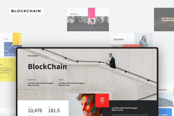 Thumbnail for BLOCKCHAIN Keynote Template