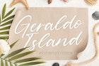 Geraldo Island YH - Luxury Handwritten Font