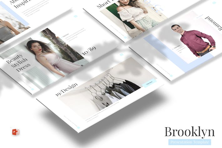 Thumbnail for Brooklyn - Powerpoint Template