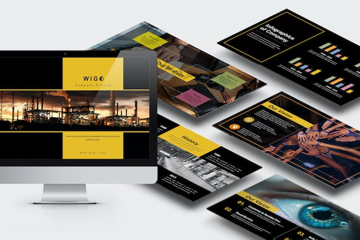Thumbnail for Wigo : Architect Powerpoint Template