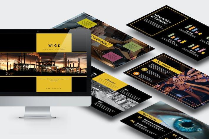 Wigo: Шаблон Powerpoint архитектора