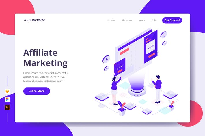 Thumbnail for Affiliate Marketing - Landing Page